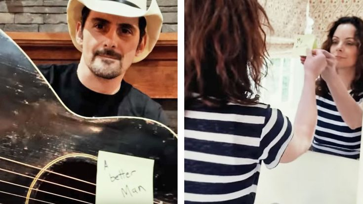 "Brad Paisley Surprises Wife In Romantic Way In ""My Miracle"" Video"
