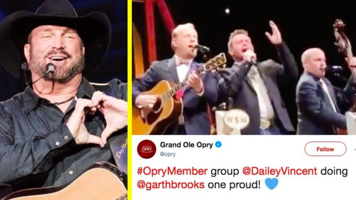 Opry Members Dailey & Vincent Put Bluegrass Twist On Garth Brooks Hit | Classic Country Music Videos