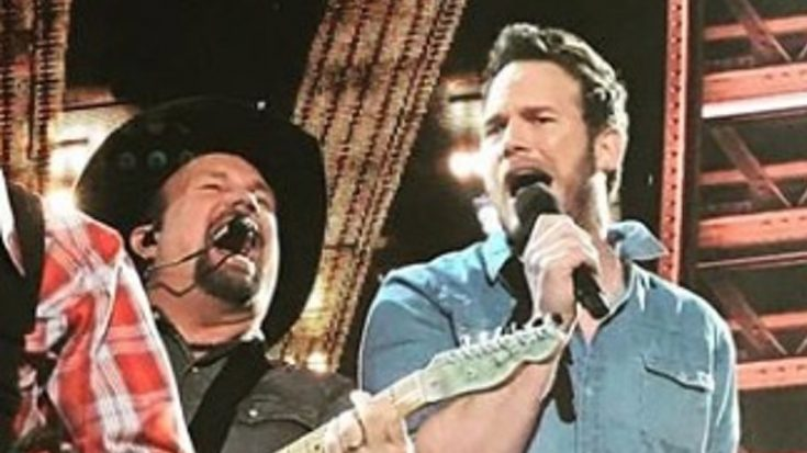 Garth Brooks Brings Out Superstar Actor To Sing 'Friends In Low Places' At iHeart Awards
