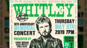Announcing…Keith Whitley Tribute Concert With Star-Studded Lineup