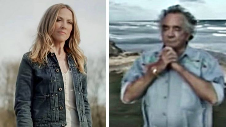 15 Years After His Death, Sheryl Crow Joins Johnny Cash For 'Redemption Day' Duet | Classic Country Music Videos