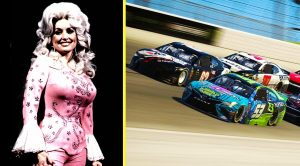 For The First Time Ever…Dolly Parton Hits The NASCAR Track