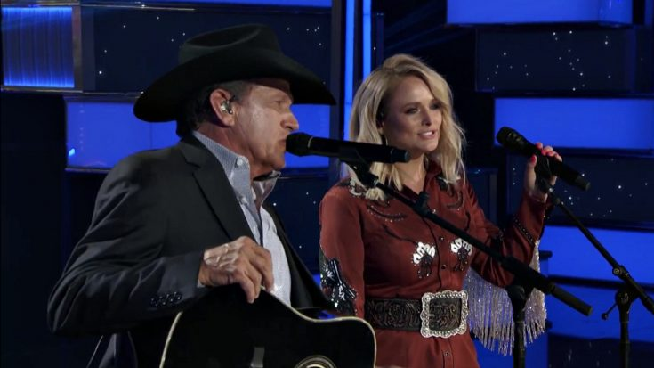 George Strait Joined By Miranda Lambert For Swoon Worthy Throwback Performance | Classic Country Music Videos