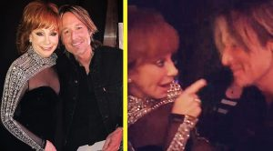 What They Never Showed You At The ACMs: Reba's Sweet Moment With Keith Urban