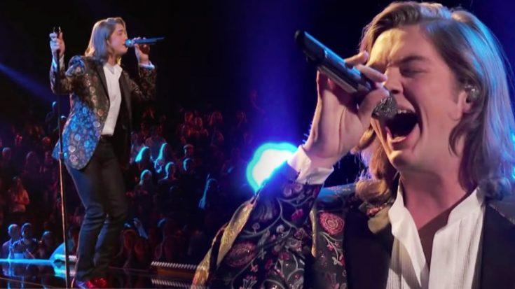 Voice Star Carter Lloyd Horne Shakes His Hips Sings Elvis
