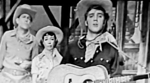 Elvis & Andy Griffith Sing Made-Up Western Song In Comedy Sketch From 1956