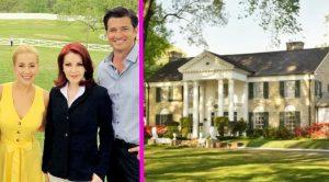 Priscilla Presley Shares Sneak Peek At Movie Being Filmed At Graceland