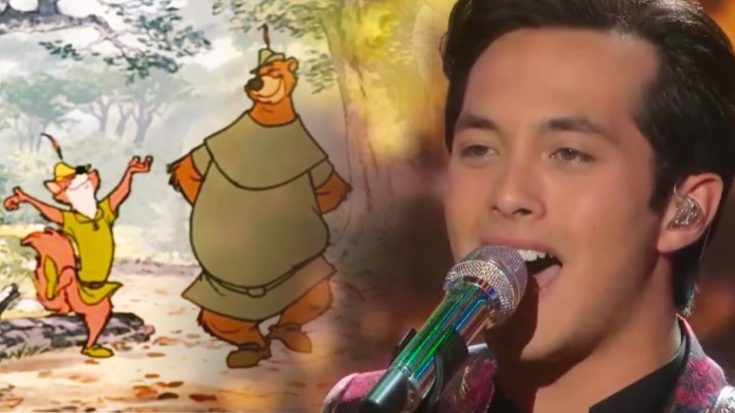 Laine Hardy Sings Roger Miller's 'Robin Hood' Song On 'Idol' Disney Night | Classic Country Music Videos