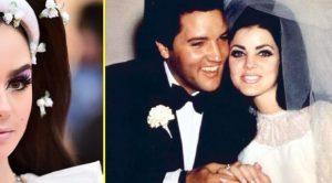 Rock Legend's Daughter Recreates Priscilla Presley's Iconic Wedding Look