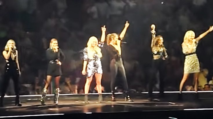 Carrie Underwood & Country Stars Put On Fierce Classic Country Medley