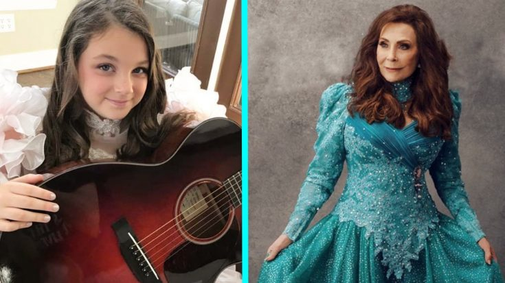 This Girl Went To School Dressed Like Loretta Lynn & The Pictures Are Priceless | Classic Country Music Videos