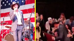 Tim McGraw Rushes Off Stage To Hug Randy Travis After Singing Keith Whitley Cover