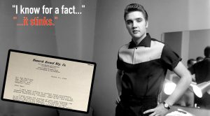 Elvis Rejected By Major Record Co. In Haunting Letter
