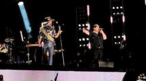 Tim McGraw Surprises CMA Fest With Luke Combs On Rowdy 'Real Good Man'