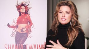 Shania Twain Fights Back Tears Talking About Open Throat Surgery