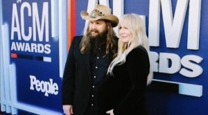 Chris Stapleton's Children Make Red Carpet Debut