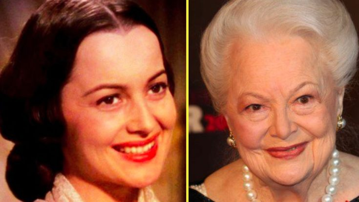 'Gone With The Wind' Actress Olivia de Havilland Photographed At 103   Classic Country Music Videos