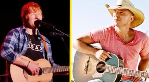 Kenny Chesney Has A Love Song Co-Written By Ed Sheeran, 'Tip Of My Tongue'