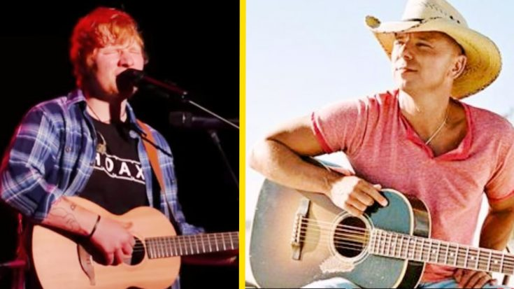 Kenny Chesney Drops Steamy New Love Song Co-Written By Ed Sheeran