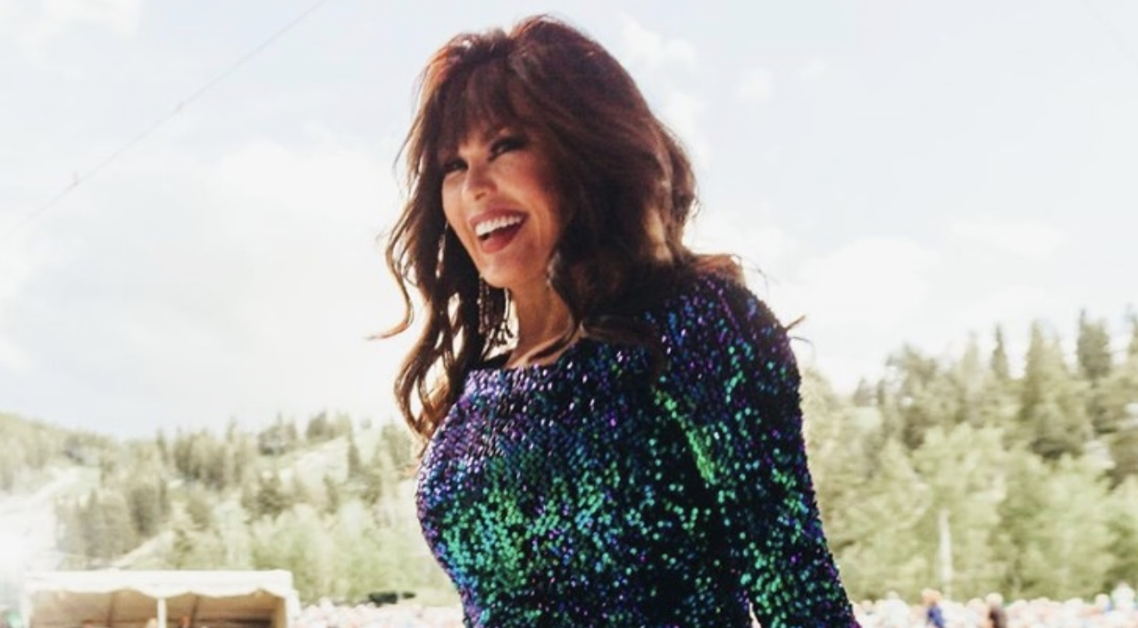 Marie Osmond Debuts Brand New Hairstyle Goes Blonde