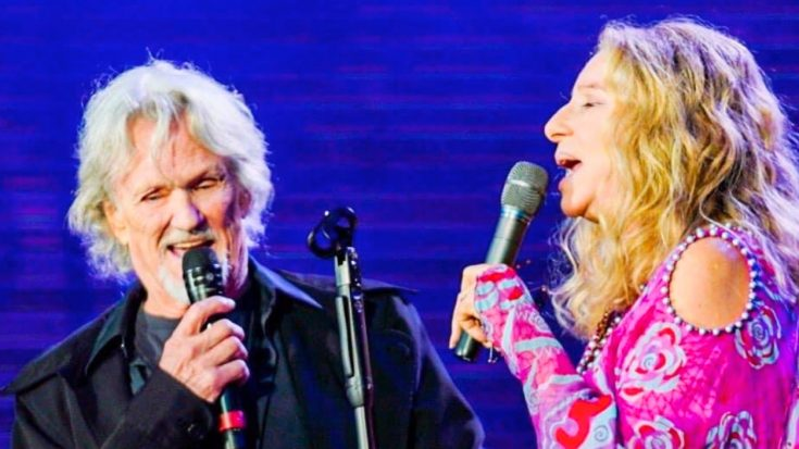Kris Kristofferson And Barbra Streisand Recreate 'A Star Is Born' Duet 43 Years Later | Classic Country Music Videos