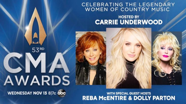 Dolly & Reba Join Carrie Underwood As Hosts Of 2019 CMA Awards | Classic Country Music Videos