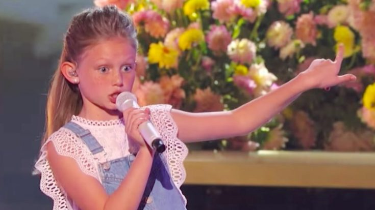 """13-Year-Old Appears On AGT To Sing Cover Of John Anderson's 'Swingin"""""""