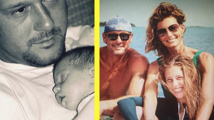 """Tim McGraw Shares Photo Of His 3 Girls For """"Daughter Day"""" 