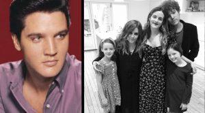 Lisa Marie Presley Shares Photo Of Her Kids – Son Benjamin Looks Like Elvis