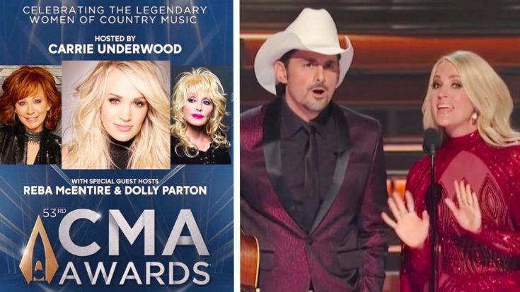 Carrie Underwood Speaks In Press Release About Dolly & Reba Replacing Brad On CMA Awards | Classic Country Music Videos