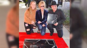 Clint Black's Daughter, Lily, Went To His Music City Walk Of Fame Induction In October