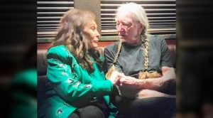 Photo: Loretta & Willie Hold Hands After The 2019 CMA Awards
