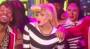 Marie Osmond Dresses As Gwen Stefani & Lip Syncs On Halloween Episode Of 'The Talk'