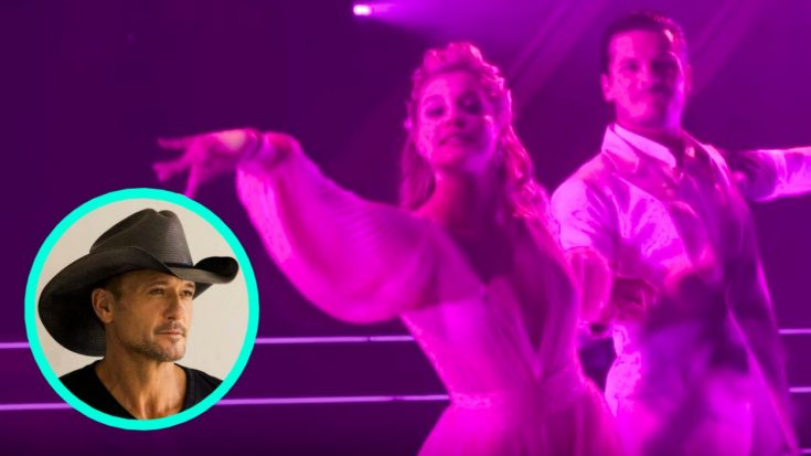 "Lauren Alaina Dances To Tim McGraw's ""Humble And Kind"" On DWTS – Tim Responds, ""Great Job"" 