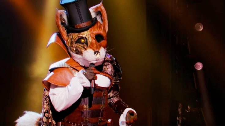 "The Fox On ""The Masked Singer"" Avoids Elimination By Singing ""Tennessee Whiskey"""