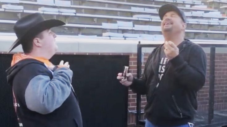 Garth Brooks Shares Pre-Concert Duet With Fan With Special Needs | Classic Country Music Videos