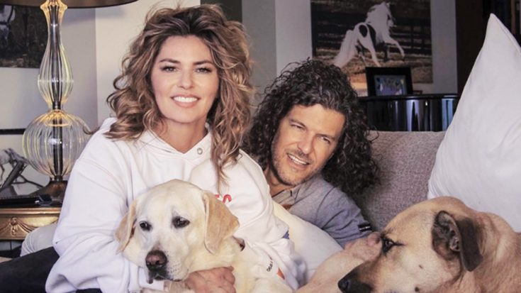 Shania Twain Posts Photo With Husband On Instagram | Classic Country Music Videos