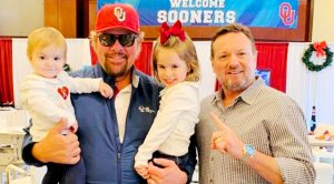 Toby Keith Photographed With Granddaughters Hensley & Kirby