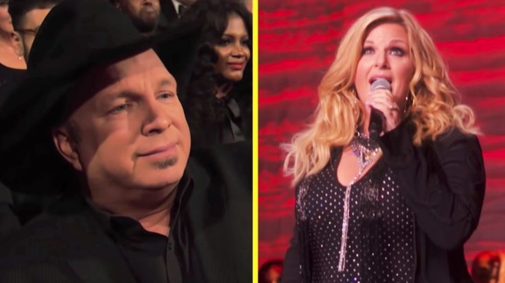 """Trisha Yearwood Sings """"You're No Good"""" In Honor Of Linda Ronstadt, Husband Garth Brooks Tears Up 