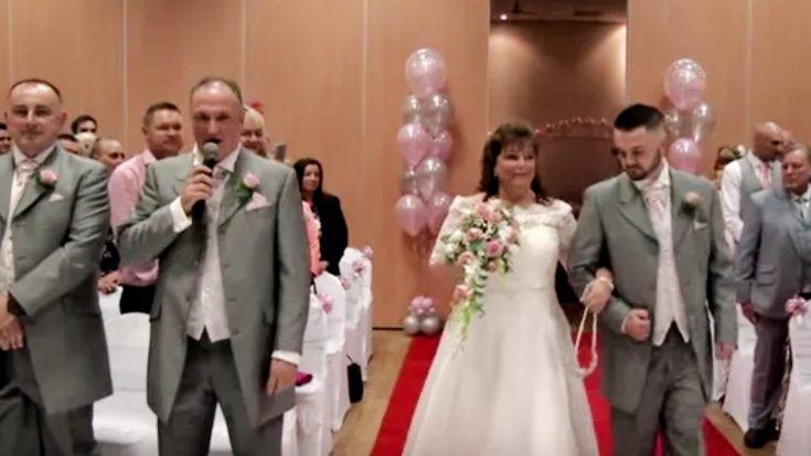 Groom, Who Sounds Similar To Elvis, Sings To His Bride | Classic Country Music Videos