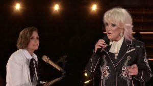 Tanya Tucker & Brandi Carlile Come Together For 'Bring My Flowers Now' GRAMMYs Duet