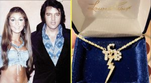 Elvis Presley's Ex, Linda Thompson, Gifts Her Son With Elvis' Gold Necklace