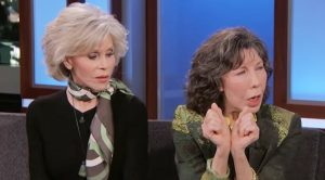 Jane Fonda & Lily Tomlin Speak About Getting Arrested For Climate Control Protests