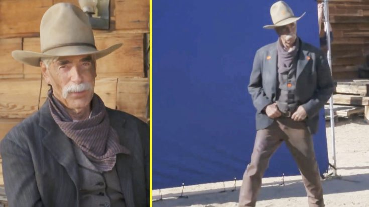 Sam Elliott Shows Off Dance Moves In Behind-The-Scene Footage Of Super Bowl Ad   Classic Country Music Videos