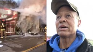 "Neal McCoy's Tour Bus ""Old Glory"" Goes Up In Flames On Louisiana Highway"
