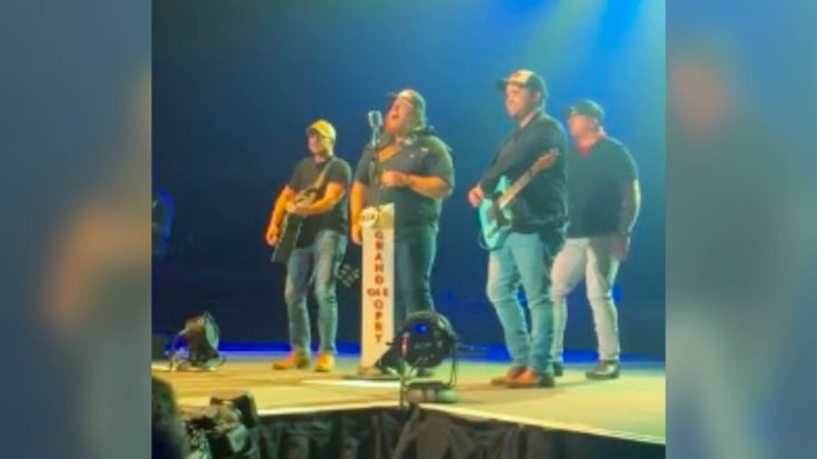 "Luke Combs & Band Sing ""Man Of Constant Sorrow"" From ""O Brother, Where Art Thou?"" 