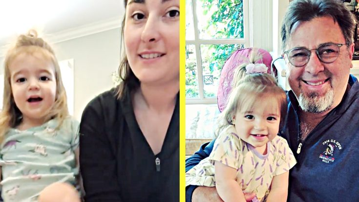 Vince Gill's 2-Year-Old Granddaughter Sings With Mom In New Video | Classic Country Music Videos