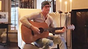 "Quarantined Tim McGraw Performs 1986 Song ""Take The Long Way Home"""