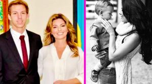 "Shania Twain Says Being With Son Eja Was ""Very, Very Helpful"" During Divorce"