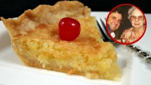Johnny Cash's Mother's Pineapple Pie Recipe